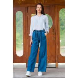 Дамски  панталон от пран деним