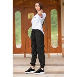 Дамски спортен панталон в...
