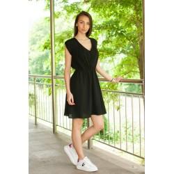 Черна лятна рокля