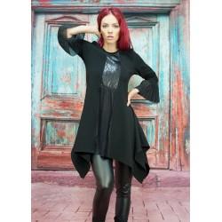 Черна дамска рокля- туника...