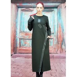 Дамск  рокля с дълъг ръкав...