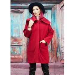 Топло зимно обемно палто