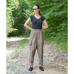 Дамски летен панталон в...