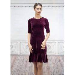Елегантна дамска рокля от...