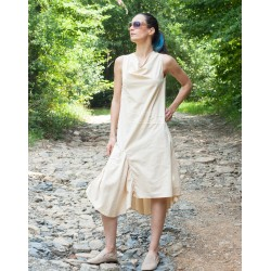 Дамска лятна ленена рокля...