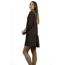 Дамска рокля в черно