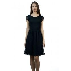 Дамска черна рокля от...