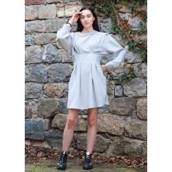 Дамска рокля  с дълъг ръкав...