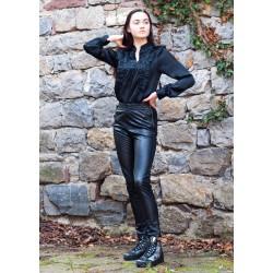 Дамски панталон от черна...