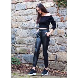 Дамски  черен панталон от...