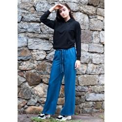 Дамски прав панталон от...