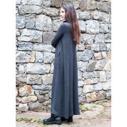 Дамска зимна дълга рокля в...
