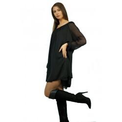 Ефирна дамска рокля от...