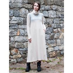 Дамска  зимна рокля с миди...